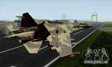 SU-35 Flanker-E ACAH für GTA San Andreas linke Ansicht