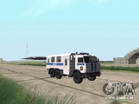 KamAZ-43114 ein OMON für GTA San Andreas
