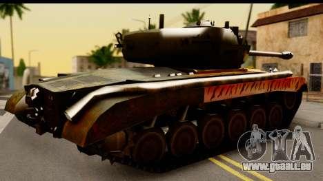 M26 Pershing Tiger pour GTA San Andreas vue de droite