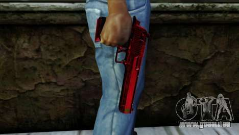 Desert Eagle Marruecos für GTA San Andreas dritten Screenshot