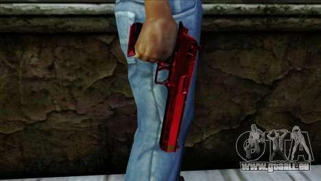 Desert Eagle Marruecos pour GTA San Andreas troisième écran