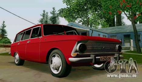 IZH-412 Wagon pour GTA San Andreas vue de droite