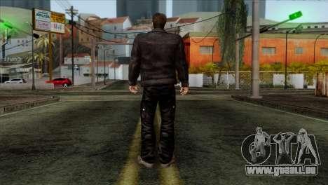 T-800 Skin pour GTA San Andreas deuxième écran