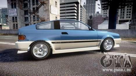 Dinka Blista Compact R für GTA 4 linke Ansicht