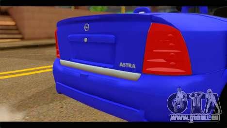 Opel Bertone Cabrio pour GTA San Andreas vue arrière