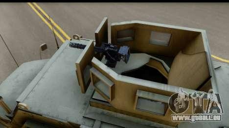 International MaxxPro MRAP für GTA San Andreas rechten Ansicht