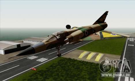 Dassault Mirage III AFI pour GTA San Andreas