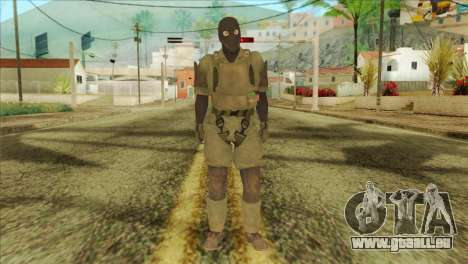 Metal Gear Solid 5: Ground Zeroes MSF v2 für GTA San Andreas