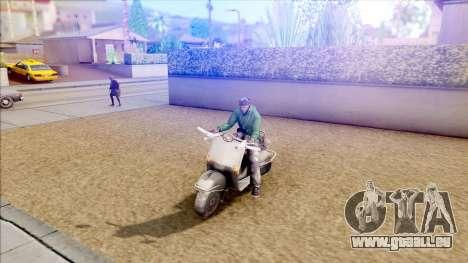 Piaggio Vespa pour GTA San Andreas