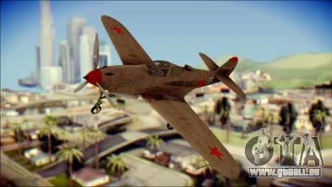 Pokryshkin P-39N Airacobra pour GTA San Andreas