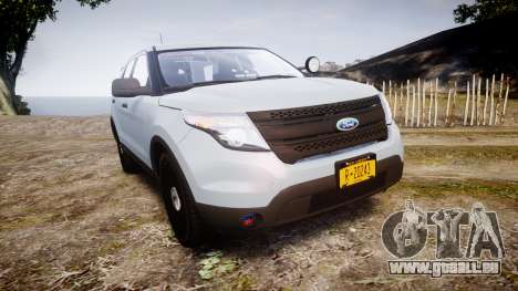 Ford Explorer Police Interceptor 2013 [ELS] pour GTA 4