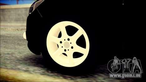 Ford Focus ДПС pour GTA San Andreas sur la vue arrière gauche
