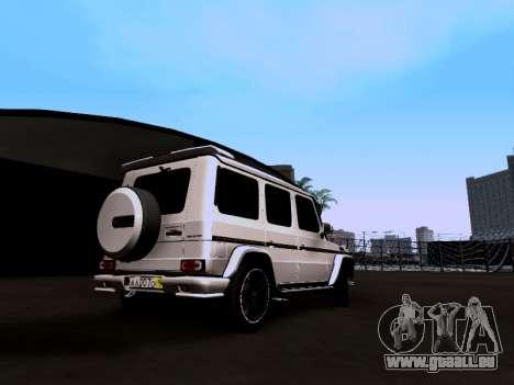 Mercedes-Benz G55 AMG für GTA San Andreas linke Ansicht