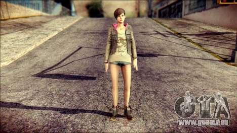 Moira Burton from Resident Evil für GTA San Andreas