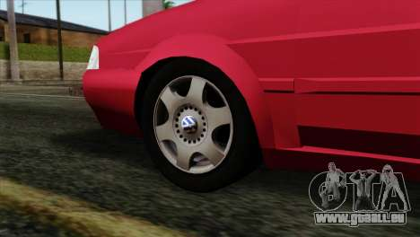 Volkswagen Santana pour GTA San Andreas sur la vue arrière gauche