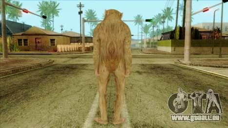 Monkey Skin from GTA 5 v2 für GTA San Andreas zweiten Screenshot