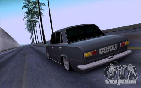 VAZ 2101 БПАN pour GTA San Andreas vue arrière