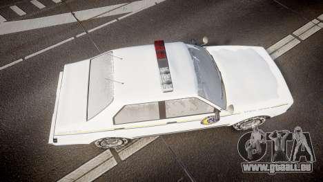 GTA V Albany Police Roadcruiser für GTA 4 rechte Ansicht