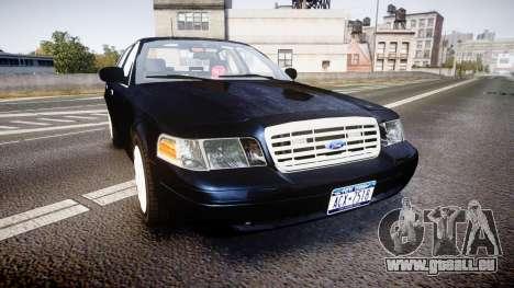 Ford Crown Victoria NYPD Unmarked [ELS] für GTA 4