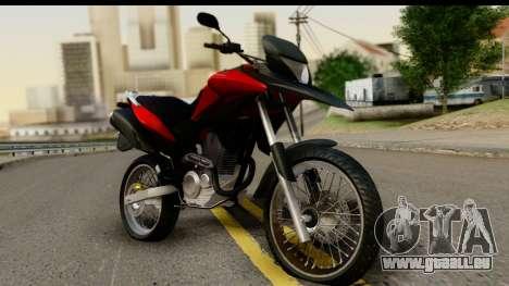 Honda XRE 300 v2.0 für GTA San Andreas