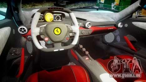 Ferrari LaFerrari 2013 HQ [EPM] PJ1 pour GTA 4 est une vue de l'intérieur