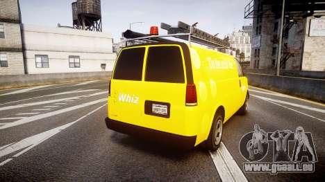 Vapid Speedo Whiz für GTA 4 hinten links Ansicht