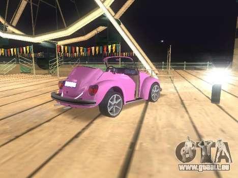 Volkswagen Beetle 1984 pour GTA San Andreas moteur