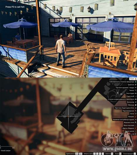 GTA 5 La pêche quatrième capture d'écran