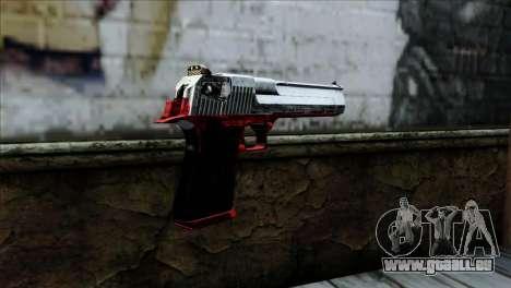 Desert Eagle Polonia für GTA San Andreas zweiten Screenshot