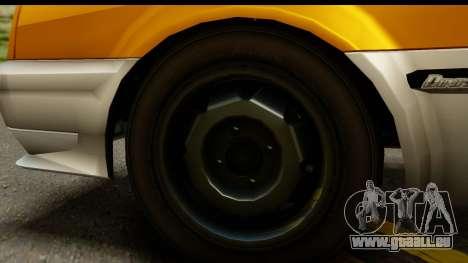 GTA 4 Blista Compact pour GTA San Andreas vue arrière