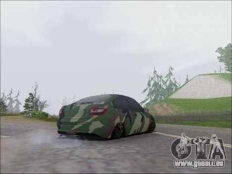 Lada Granta Liftback Coupe für GTA San Andreas rechten Ansicht