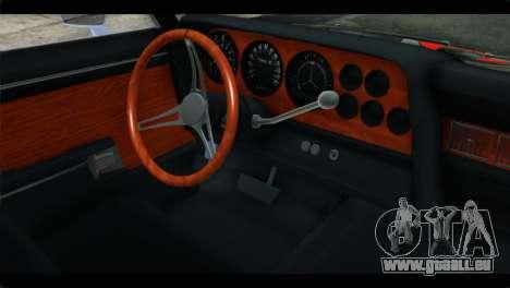 Ford Gran Torino pour GTA San Andreas vue de droite