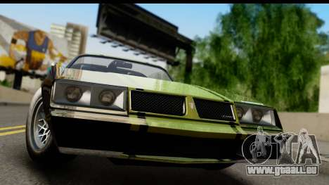 GTA 5 Imponte Phoenix IVF pour GTA San Andreas sur la vue arrière gauche