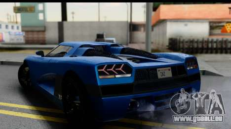 GTA 5 Overflod Entity XF IVF pour GTA San Andreas laissé vue