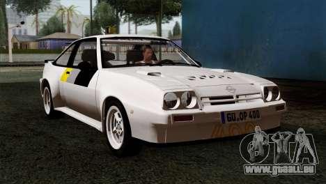 Opel Manta 400 v2 für GTA San Andreas