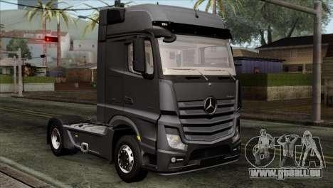 Mercedes-Benz Actros MP4 Euro 6 für GTA San Andreas