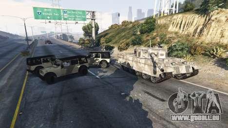 Soldats avec 5 étoiles pour GTA 5