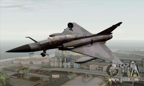 Dassault Mirage 2000-N SAM pour GTA San Andreas