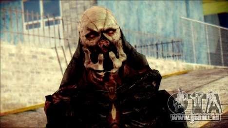 Verdugo Resident Evil 4 Skin pour GTA San Andreas troisième écran