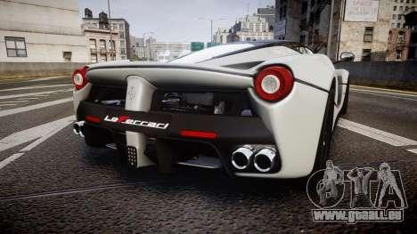 Ferrari LaFerrari 2013 HQ [EPM] pour GTA 4 Vue arrière de la gauche