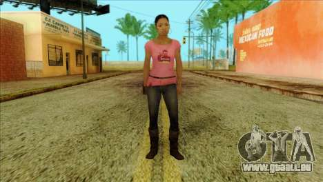 Rochelle from Left 4 Dead 2 für GTA San Andreas