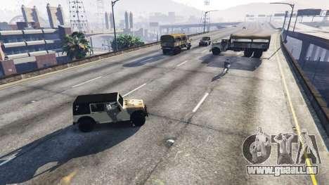 GTA 5 Soldaten mit 5 Sterne zweite Screenshot
