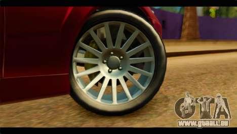 MP3 Dewbauchee XSL650R für GTA San Andreas zurück linke Ansicht