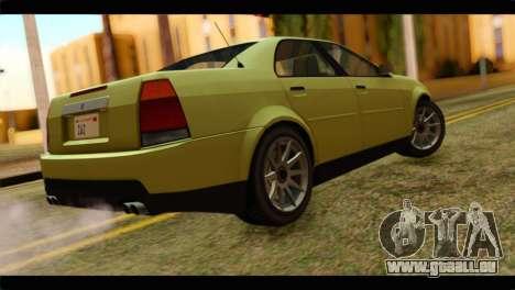 GTA 4 Presidente pour GTA San Andreas laissé vue