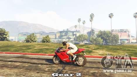 Transmission manuelle pour GTA 5