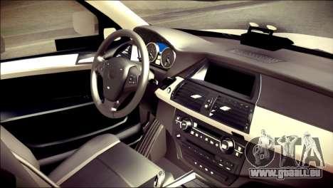 BMW X5 Kent Police RPU pour GTA San Andreas vue de droite