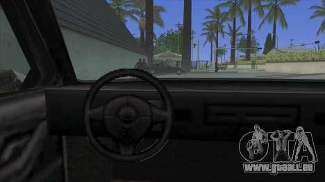 Premier Coupe pour GTA San Andreas vue de droite