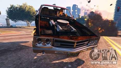GTA 5 Le travail de sape du véhicule