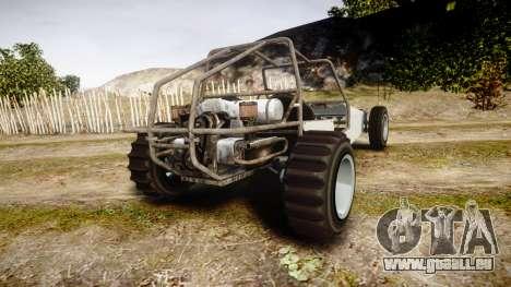 GTA V BF Dune Buggy pour GTA 4 Vue arrière de la gauche