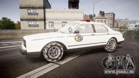 GTA V Albany Police Roadcruiser für GTA 4 linke Ansicht
